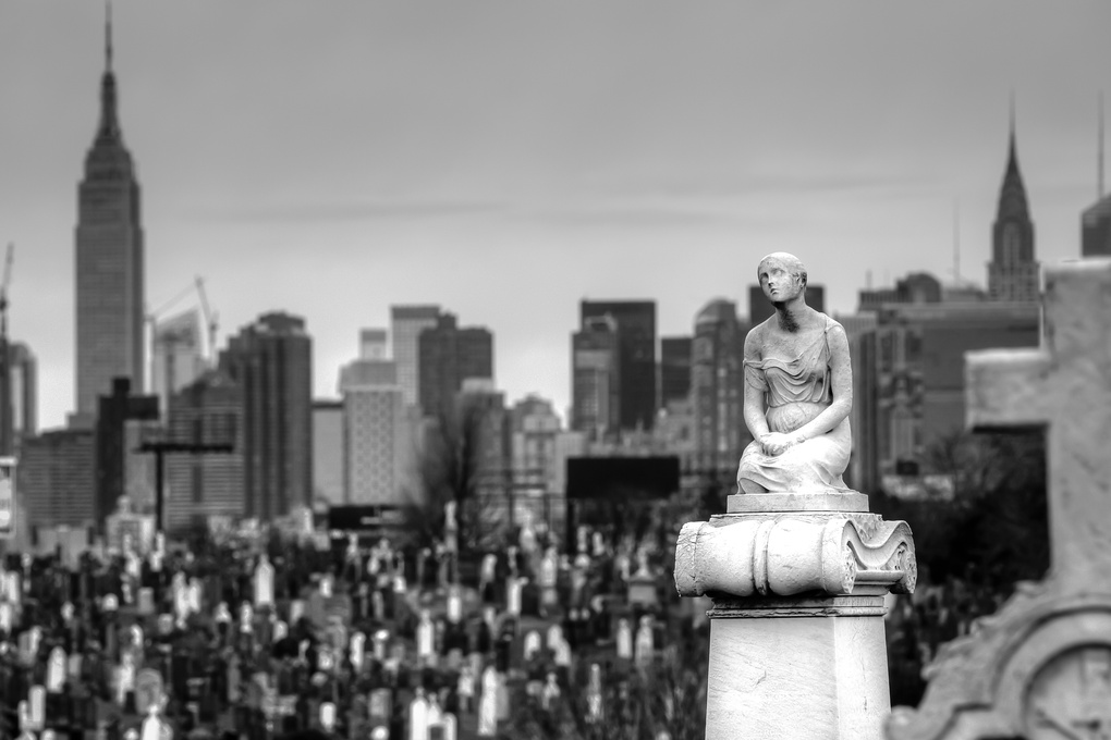 Calvary Cemetery by Andrew Weiss