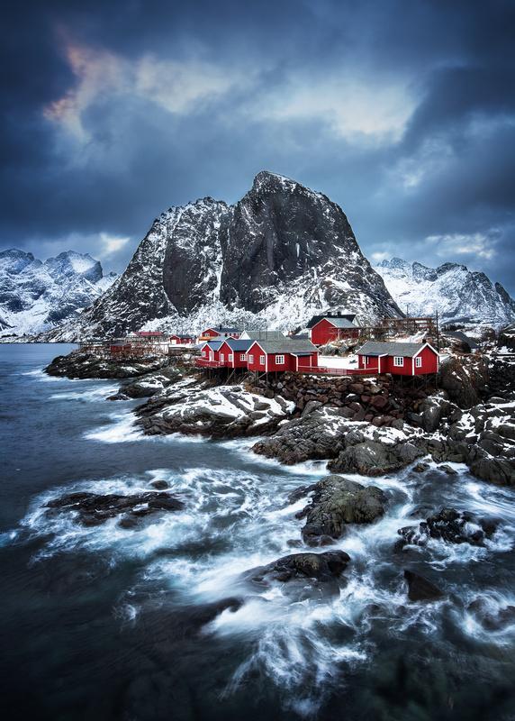Hamnøy by Thomas Hugi