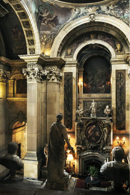 Chatsworth House interior by Steve Silk