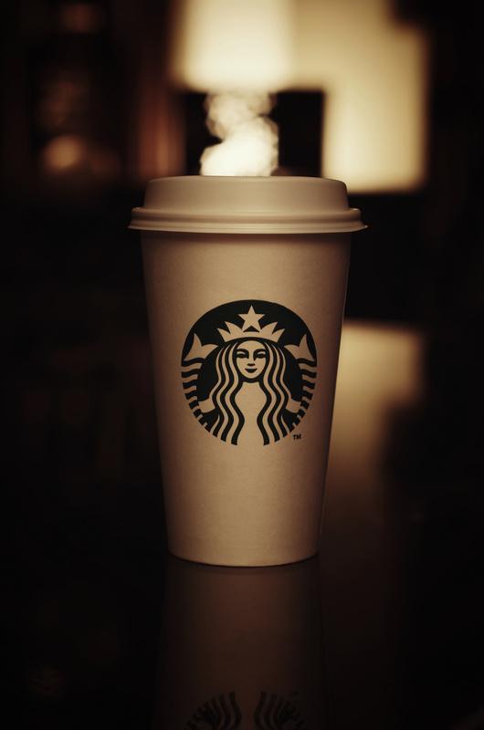 Starbucks cup by NASSER ALKHALDI