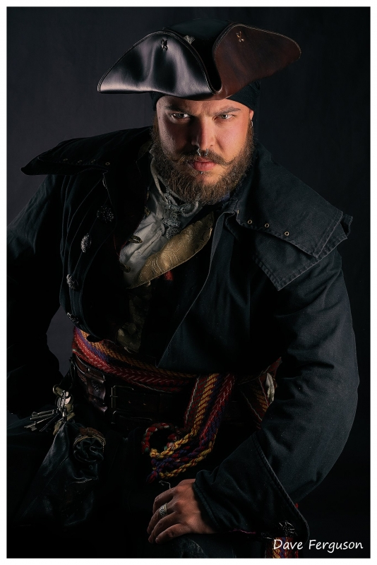 Nathan the pirate by Dave Ferguson