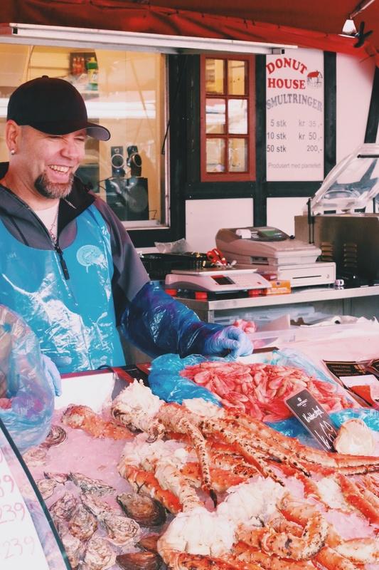 Local Fish Market by Dominique Tanton