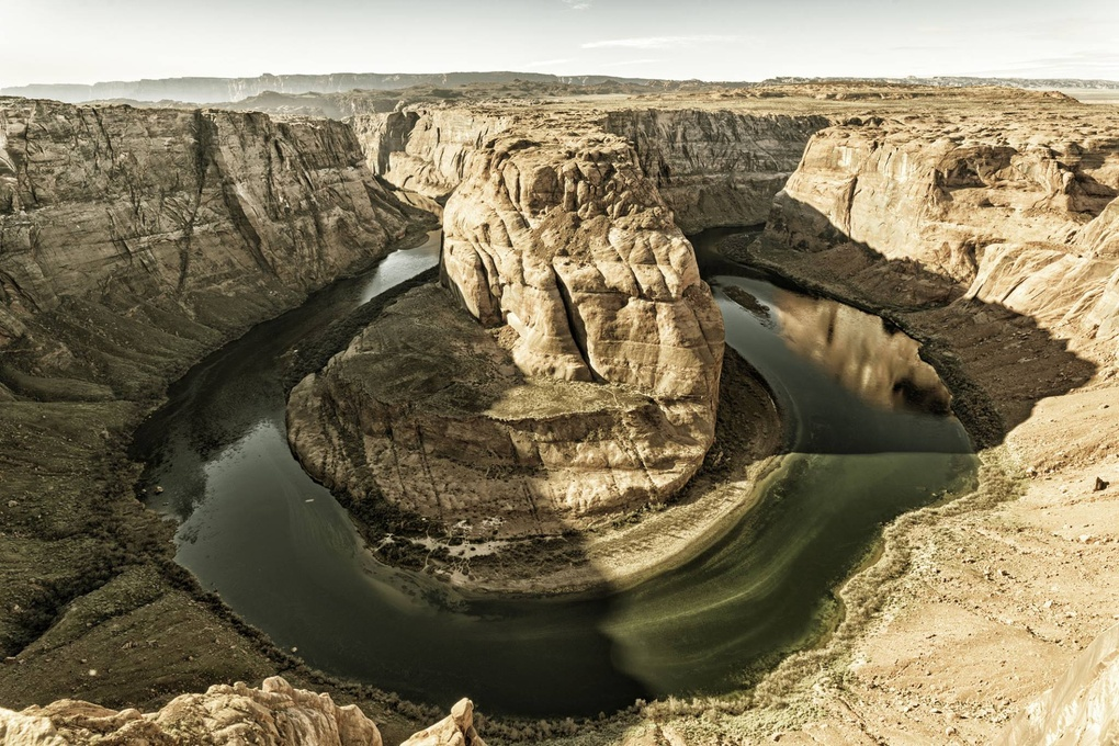 Horseshoe Bend by Gregory Brossard