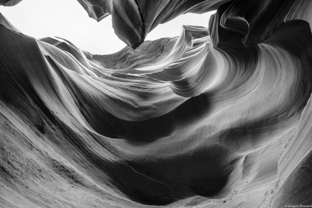 Lower Antelope Canyon by Gregory Brossard