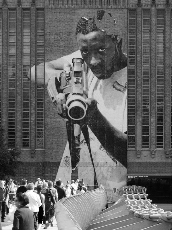 JR at Tate Modern by Nicholas Goodden