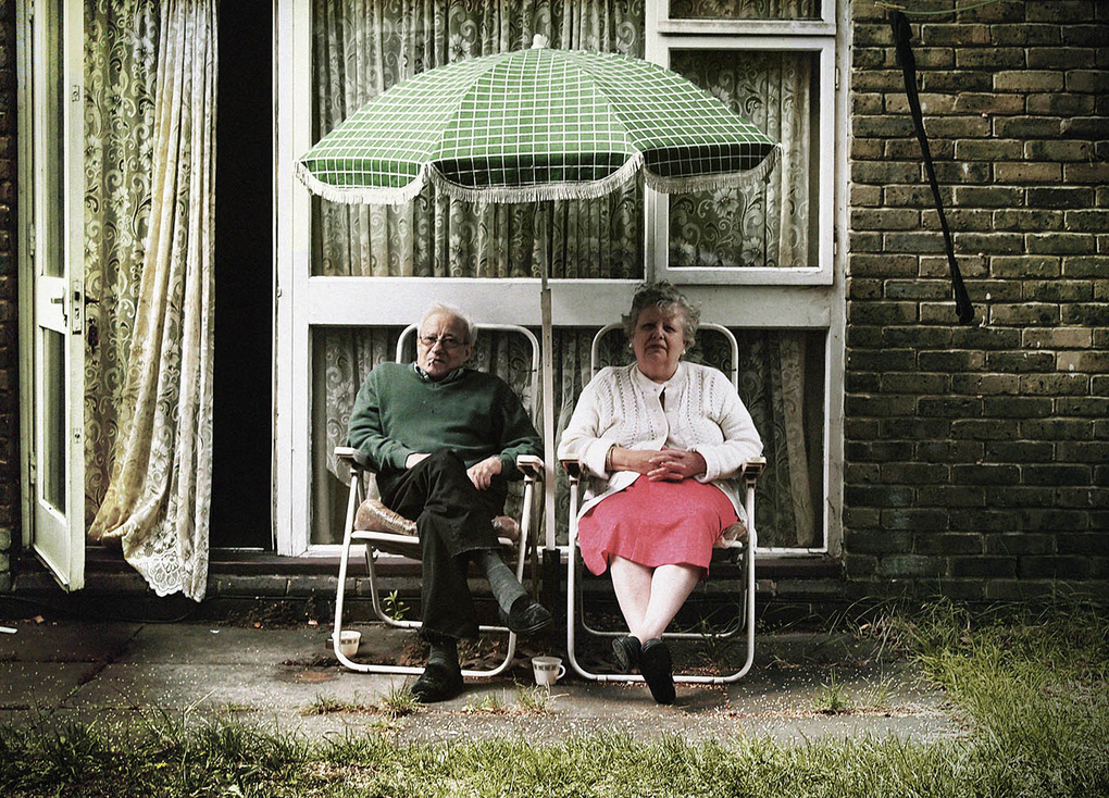 Old Couple by Nicholas Goodden