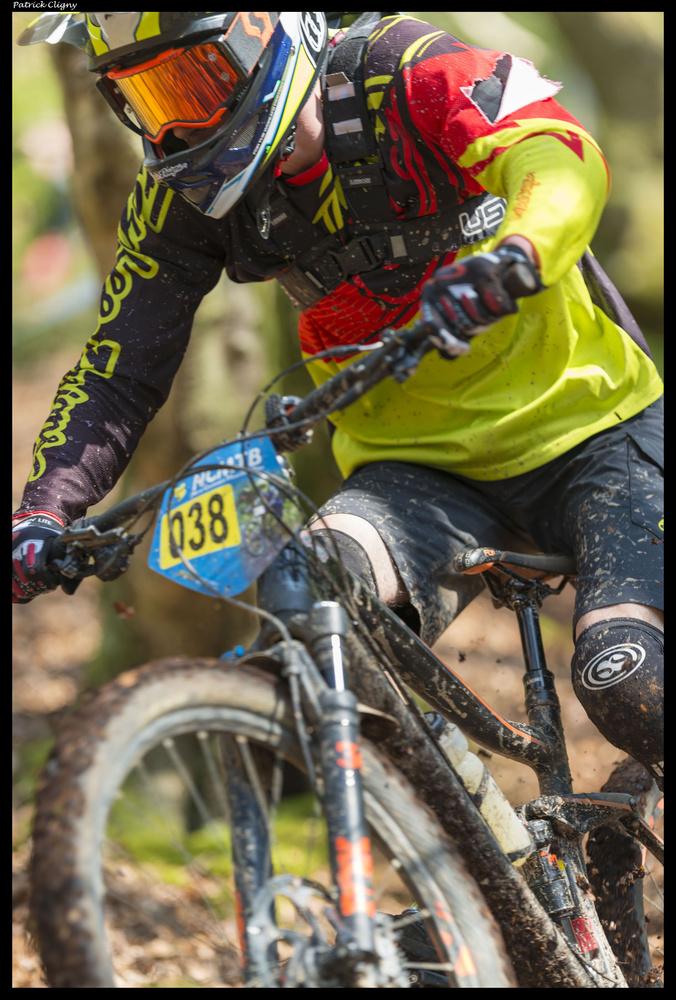 MTB racing trail by Patrick CLIGNY