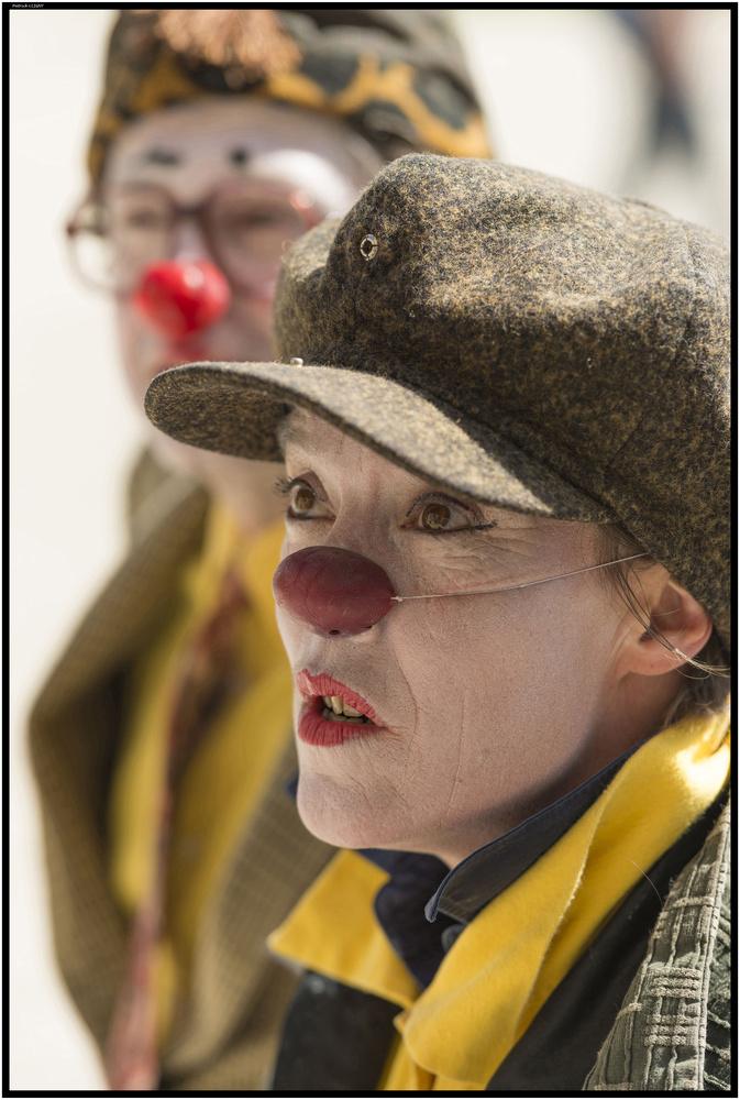 Clown by Patrick CLIGNY