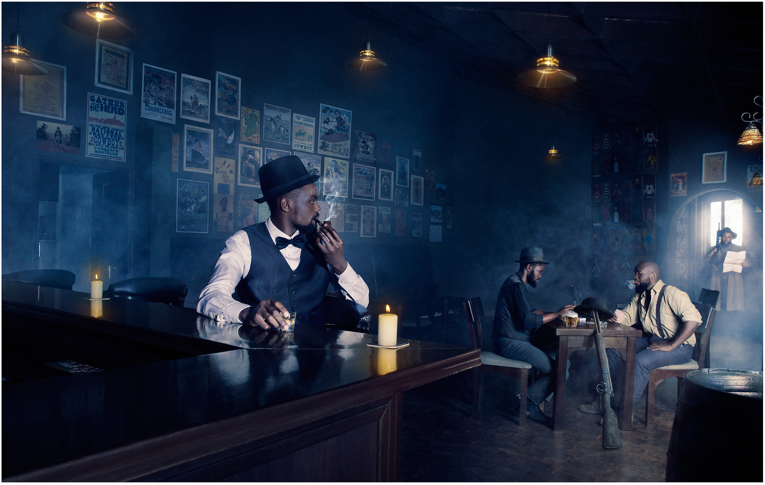 The Saloon by Kamau Patrick