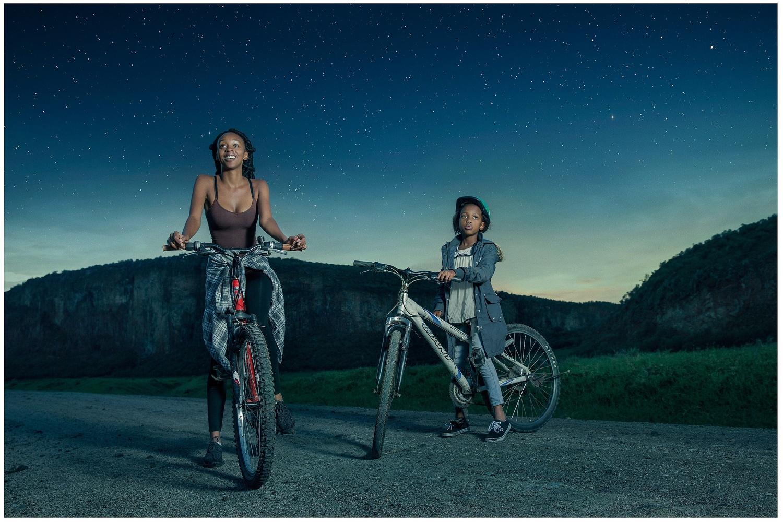 Hells Gate Park Bike Ride by Kamau Patrick