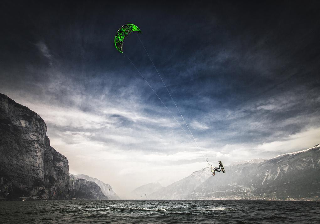 Mystic Lago di Garda - Kitesurf by Mathias Praegant