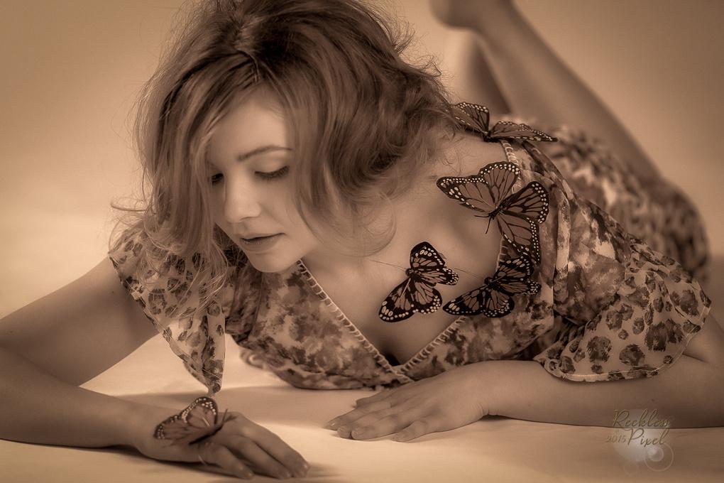Butterfly Friends by Richard Smith Jr