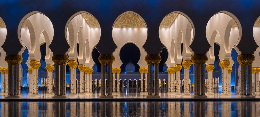 Zayed Grand Masjid by Walid Ahmad