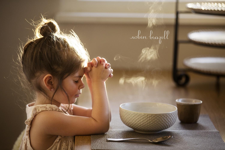 Child's Prayer by Robin Brazill