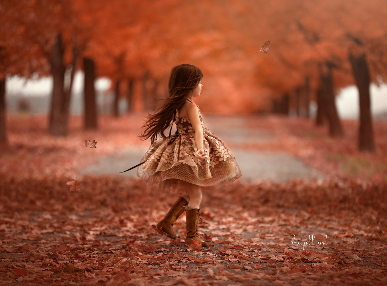 Dance of the Leaves by Robin Brazill