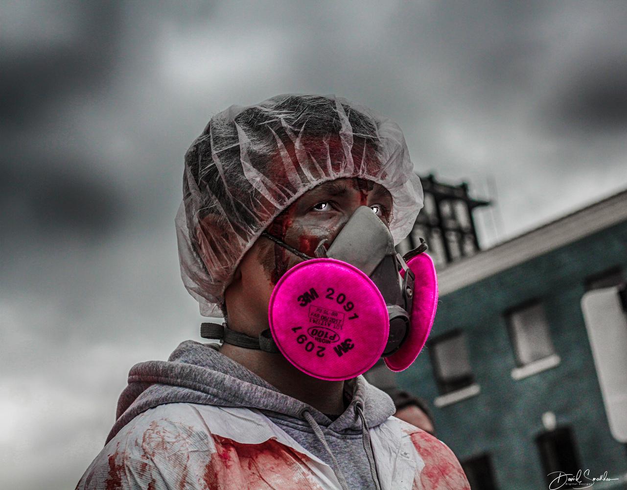 Zombie Walk by David Smalldon