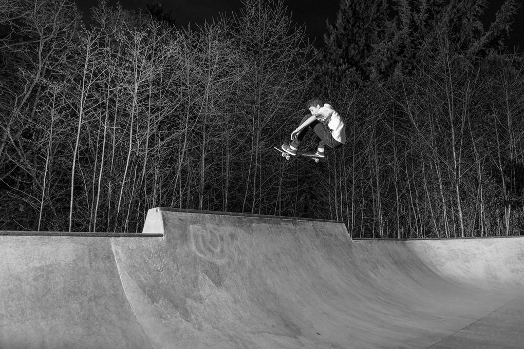 Skateboard Air~ by Taylor Feist