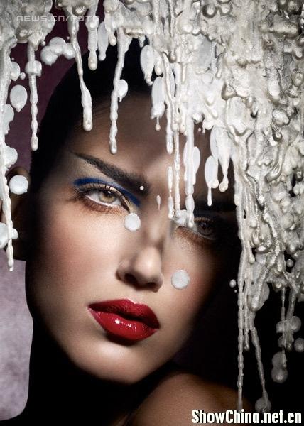 Philippe Kerlo Shoots Beauty Shots Through Plexiglass And