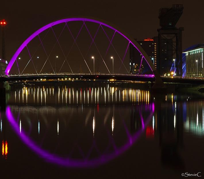 Squinty Bridge, Glascow