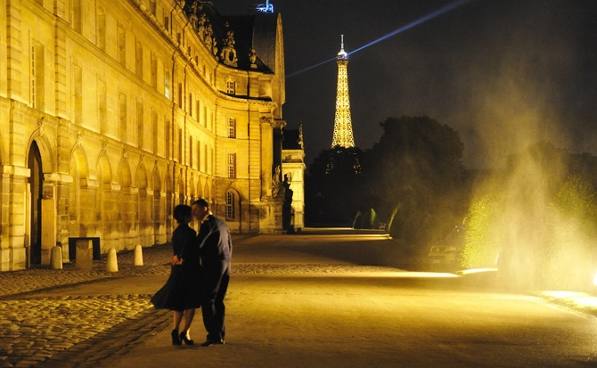 The Couple In Paris, France