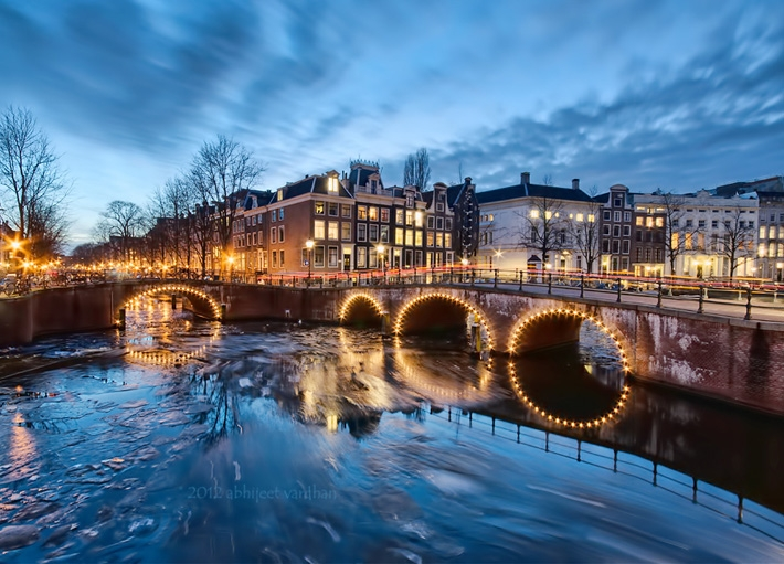 Where The Kezersgracht Meets Leidesgracht