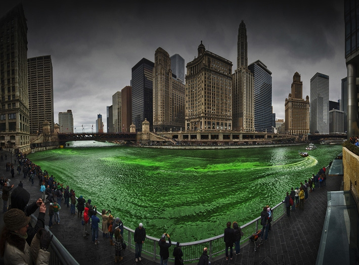 Happy St. Patrick's Day, Chicago's Emerald River