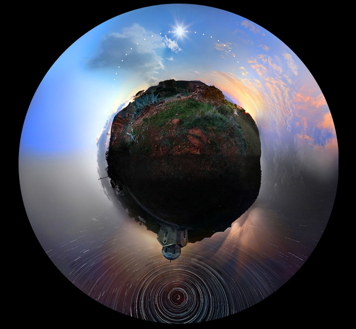 [Pics] An Incredible 24-Hour, 360º Panorama