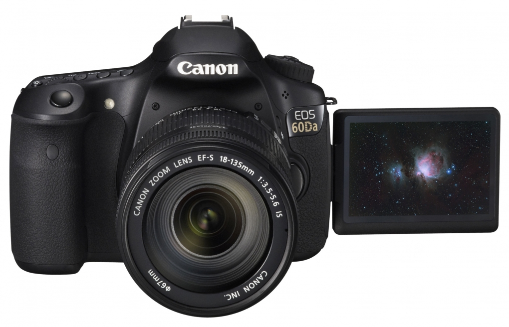 [News] Canon Announces New 60Da for Astrophotography!