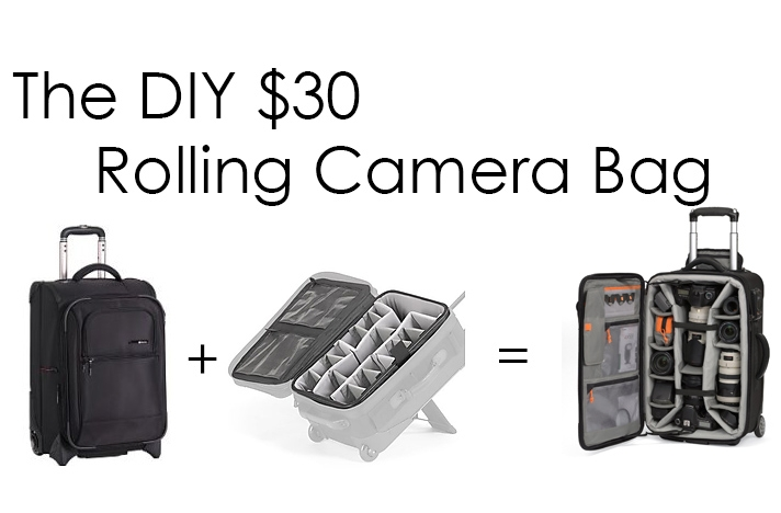 [DIY] The DIY $30 Rolling Camera Bag