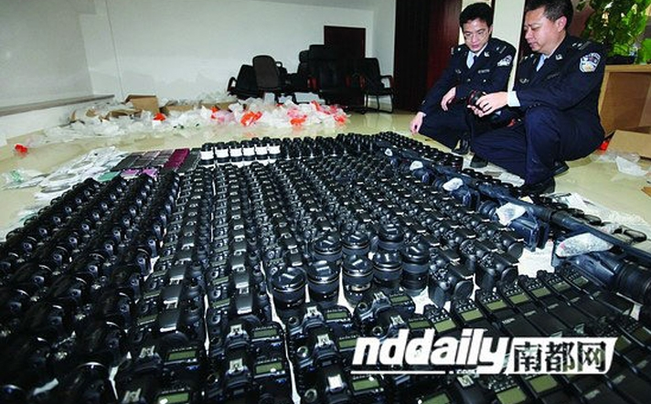 [News] $60 Million in Camera Gear Seized from Smugglers