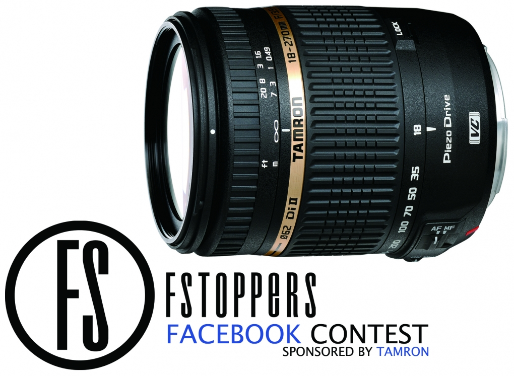 [Contest] Win a Tamron 18-270mm Di II VC Lens