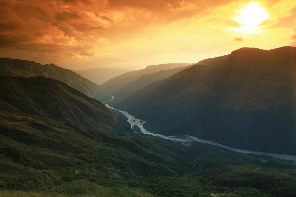 Columbian Sunset