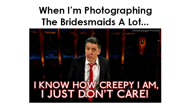 Funny Photo Gifs That Describe The Wedding Photographer
