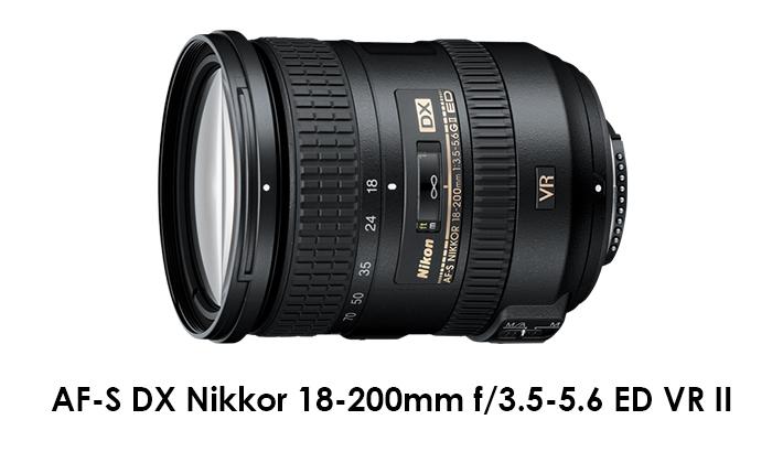 AF-S DX Nikon 18-200mm f/3.5-5.6 ED VR II