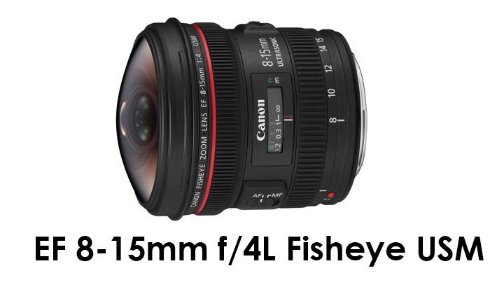 EF 8-15mm f/4L Fisheye USM