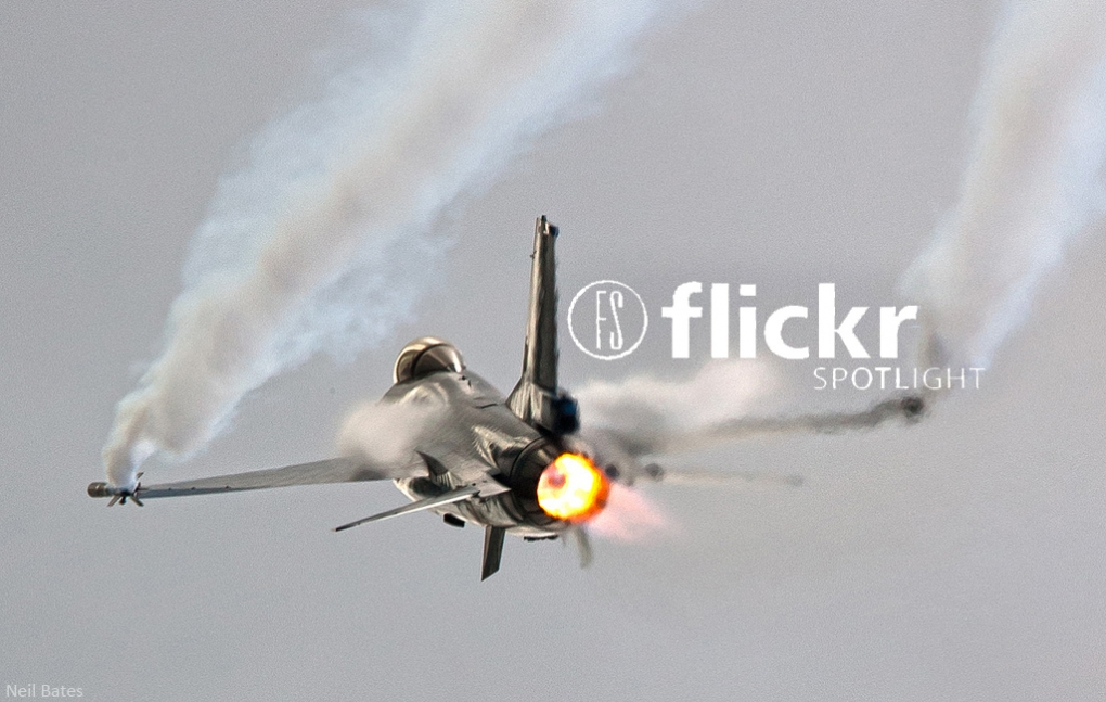 Flickr Spotlight - Photographing Planes From Unique Angles
