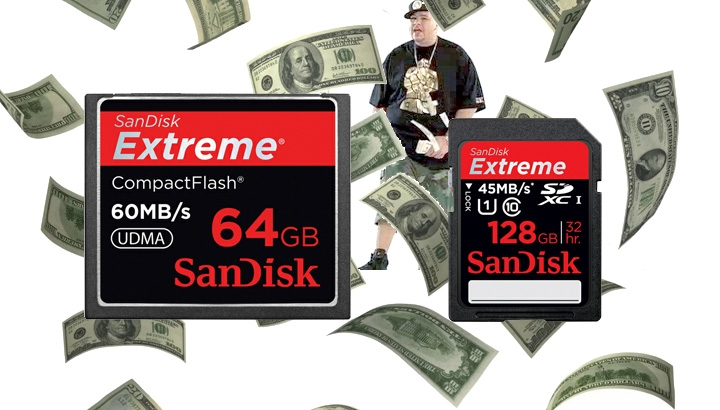 It Is That Time Again, Sandisk 64GB CF and SD Cards One Day Only Sale