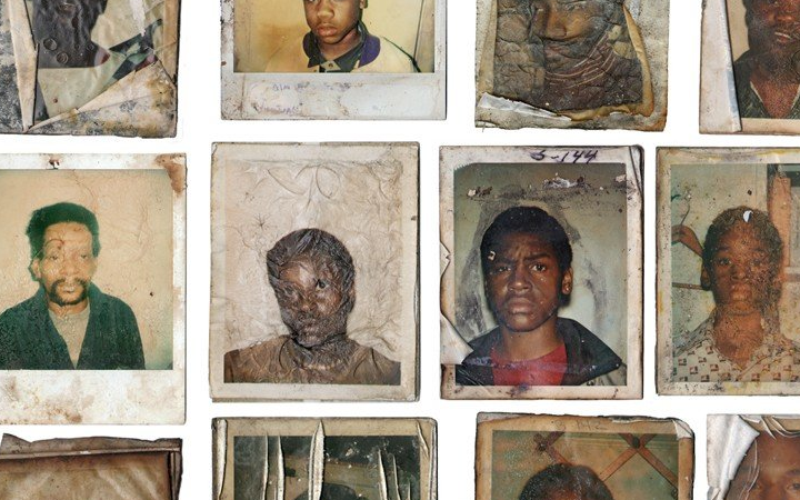 Abandoned Photographs Found in the Streets of Detroit