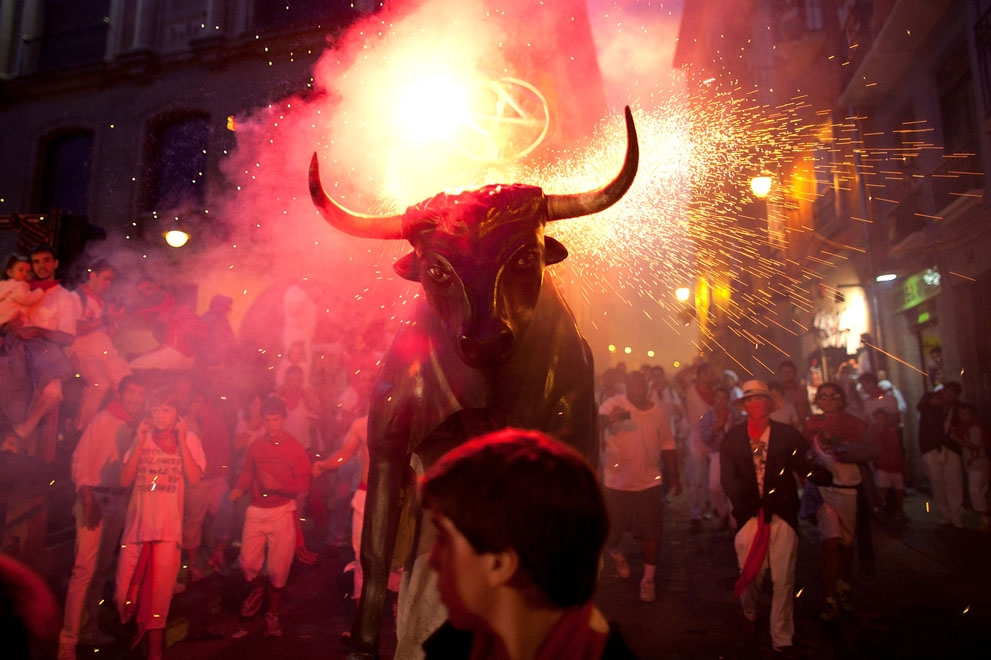 Encierro: The 2012 Running Of The Bulls
