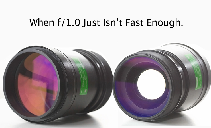 What One Photographer Did When f/1.0 Just Wasn't Fast Enough