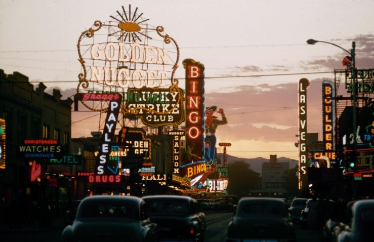 Images From Before Las Vegas Was The Bright-Lights Big-City