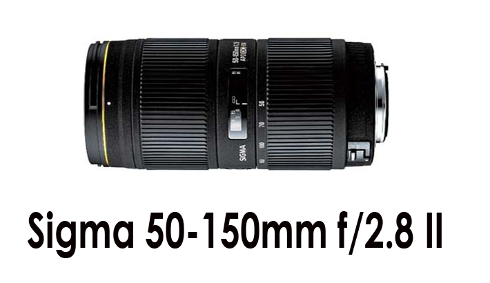 Sigma 50-150mm f/2.8 II EX DC HSM