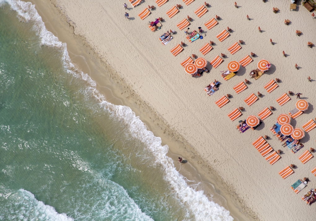 Aerial Images from Beaches All Over The World