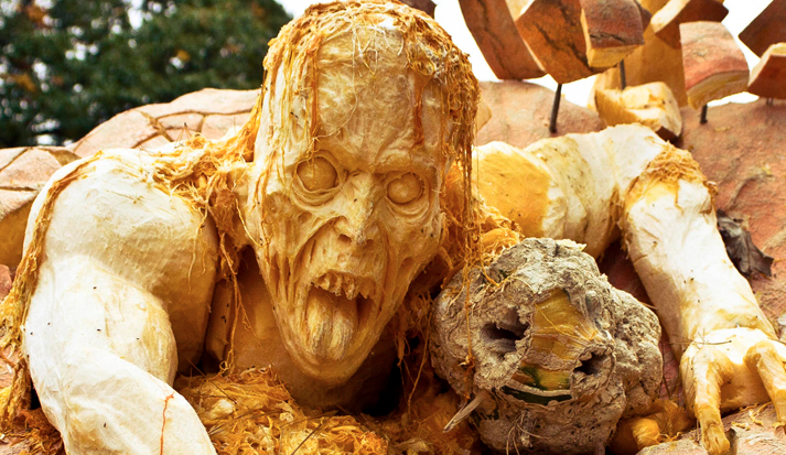 "The ""Horror Pumpkin"" Series Is Horrifically Beautiful"