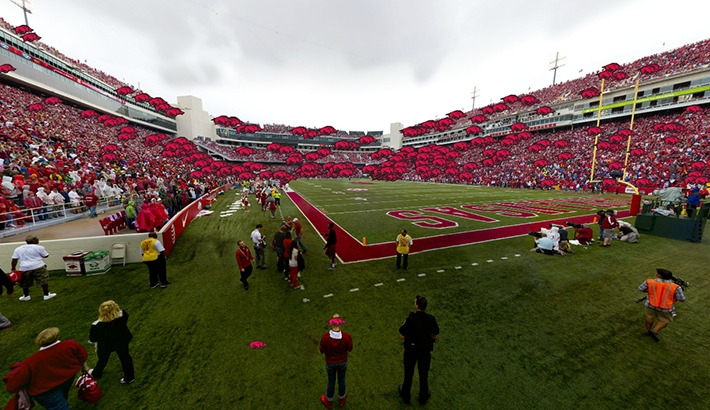 Arkansas Razorbacks Gigapixel Stadium Panorama