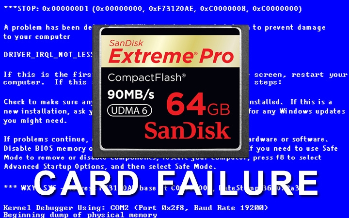 Has Your Memory Card Ever Failed?