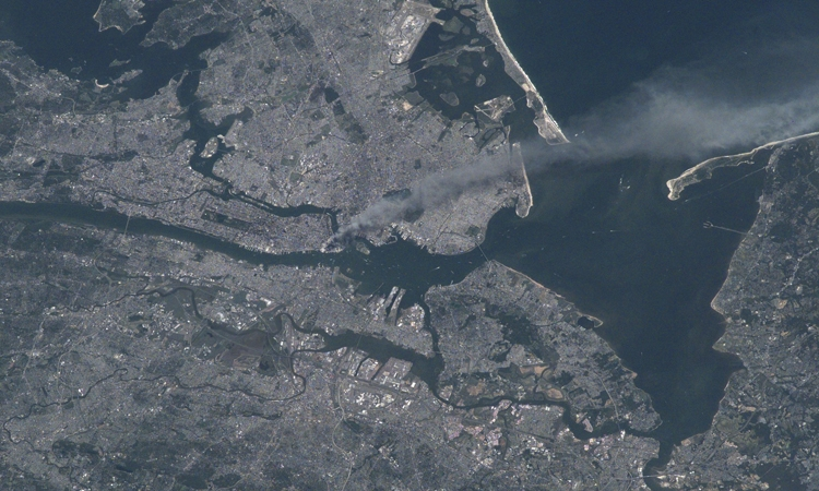 View From Space: New York City on September 11, 2001