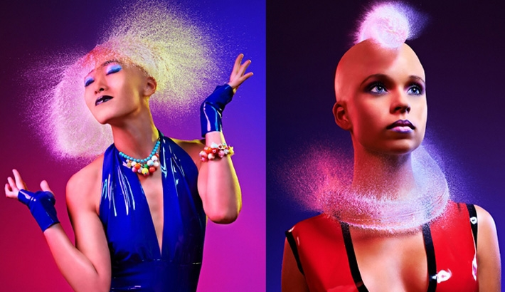 Water Wigs Using High Speed Photography