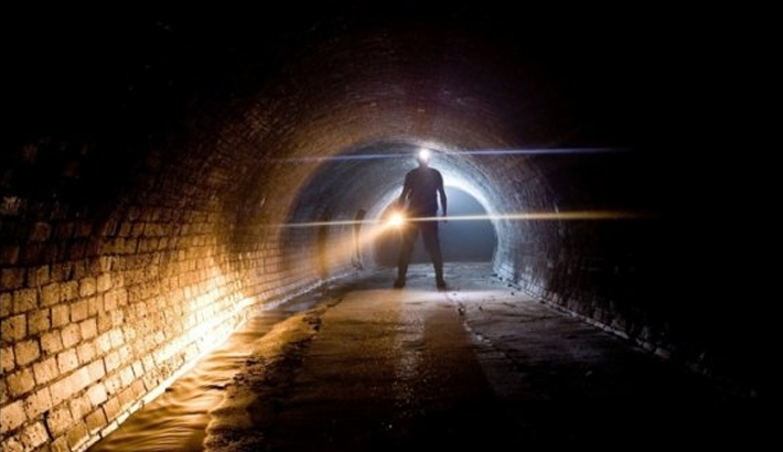 Eerie Photos From An Underground World