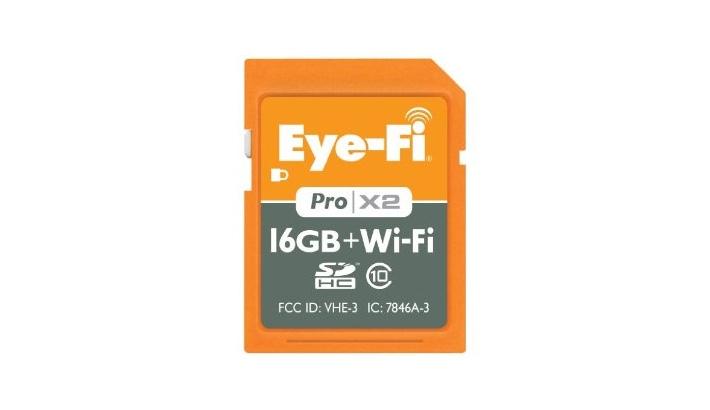 Eye-Fi Unveils New 16GB Pro X2 Wireless Memory Card